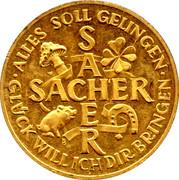 New Year Lucky Token - Sacher – reverse