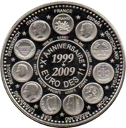 Token - L'Europe des XXVII (10 years of the Euro Parity; France) – obverse