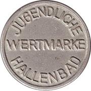 Public Swimming Pool Token - Wildeshausen (youth) – reverse