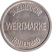 Public Swimming Pool Token - Sinsheim (youth) – reverse