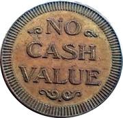 Token - No Cash Value ($) – reverse