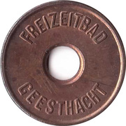 Public Swimming Pool Token - Geesthacht (youth) – obverse