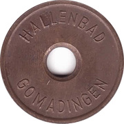 Public Swimming Pool Token - Gomadingen (youth) – obverse
