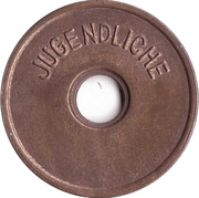 Public Swimming Pool Token - Gomadingen (youth) – reverse