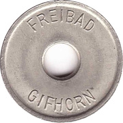 Public Swimming Pool Token - Gifhorn (youth) – obverse