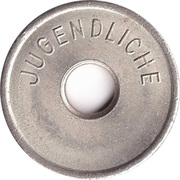 Public Swimming Pool Token - Gifhorn (youth) – reverse