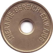 Public Swimming Pool Token - Therapie - Bereich (adult/youth) – obverse