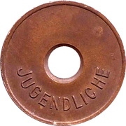 Public Swimming Pool Token - Idstein (youth) – reverse