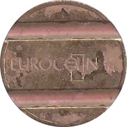 Security Token - Eurocoin London (two grooves) – obverse