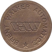 Token - Eurocoin London (Brent Walker Automatics) – reverse