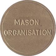 Token - Eurocoin London (Mason Organisation) – reverse