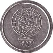 Token - MMC Milano Italy (No Cash Value) – obverse