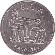 Token - C.E.A. (baby-kart) – obverse