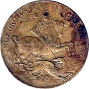 Token - S. Georgius Equitum Patronus / Intempestate Securitas (type 2) – obverse