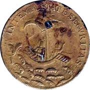 Token - S. Georgius Equitum Patronus / Intempestate Securitas (type 2) – reverse