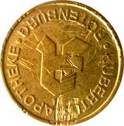 Hubertus Taler - Hubertus Apotheke (Rotenburg) – obverse
