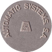 Parking Token - Automatic Systems. S.A. – obverse