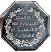 Jeton Notaire d'Angers – reverse