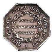 NOTAIRES DU XIXe SIECLE - Notaires d'Orléans – reverse