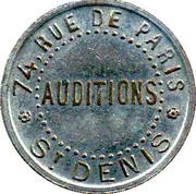 Phonograph Token - Saint-Denis Qui Chante (Paris) – reverse