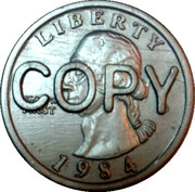 Quarter Dollar (Copy) – obverse
