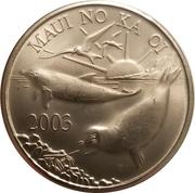1 Maui Trade Dollar – obverse