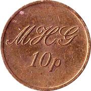 10 Pence - MHG – obverse