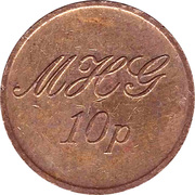 10 Pence - MHG – reverse