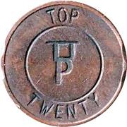 Token - Eurocoin (Top Twenty) – obverse