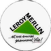 Shopping Cart Token - Leroy Merlin (1 Euro; white) – obverse