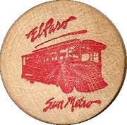 Trolley Fare - Sun Metro – obverse