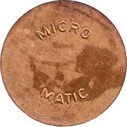 Car Wash Token - Micro Matic (27.0 mm) – obverse