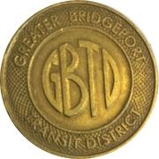 1 Fare - Greater Bridgeport Transit District (Bridgeport, CT) – obverse