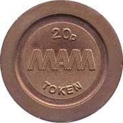 20 Pence - Eurocoin Token (MAM) – reverse
