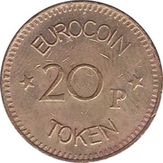 20 Pence - Eurocoin Token (Jorvik) – reverse