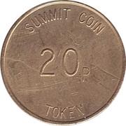 20 Pence - Summit Coin Token – reverse