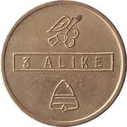 Token - Bell Fruit Ltd (Nottingham; 3 Alike) – reverse