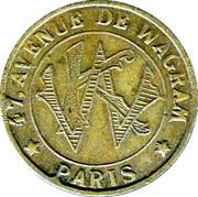 Phonograph Token - Kermesse Wagram (Paris) – reverse