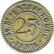 25 Centimes - Royal Chansons (Paris) – reverse