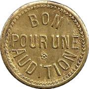 Phonograph Token - Chansonnia (Paris) – reverse