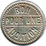 Phonograph Token - Buffalo Kermesse (Paris) – reverse