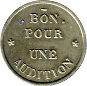 Phonograph Token - A Chanteclair (Paris) – reverse