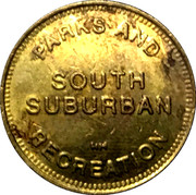 Token - South Suburban Parks and Recreation – obverse
