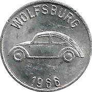 Token - Volkswagen – reverse