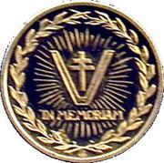 Médaille Général Charles de Gaulle – reverse