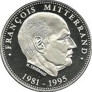 Token - Président de la République (François Mitterrand) – obverse