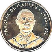 Les présidents Français - Charles de Gaulle – reverse