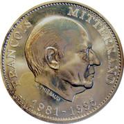 Token - Président de la République (François Mitterrand; Silver) – obverse