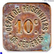 10 Centimes - Dépot de Prisonniers de Sédières (Clergoux) – obverse