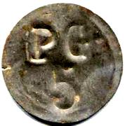 5 Centimes - PG (Prisonniers de Guerre) - Chateauroux [36] – reverse